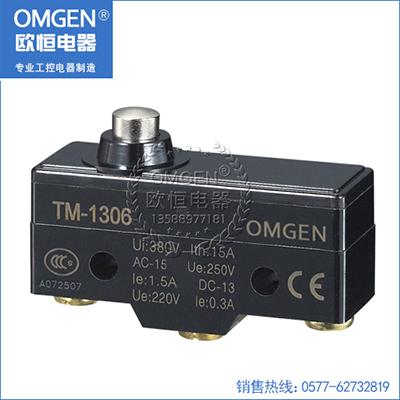 欧恒电器 TM-1306 微动开关 行程开关