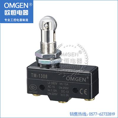 欧恒电器 TM-1308 微动开关 行程开关