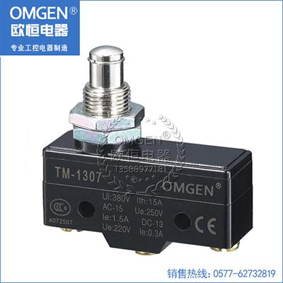 欧恒电器 TM-1307 微动开关 行程开关